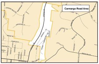 Camargo Road Area