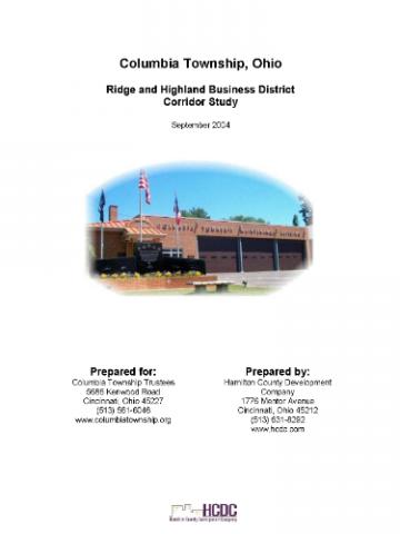 Ridge and Highland Business District Corridor study 1