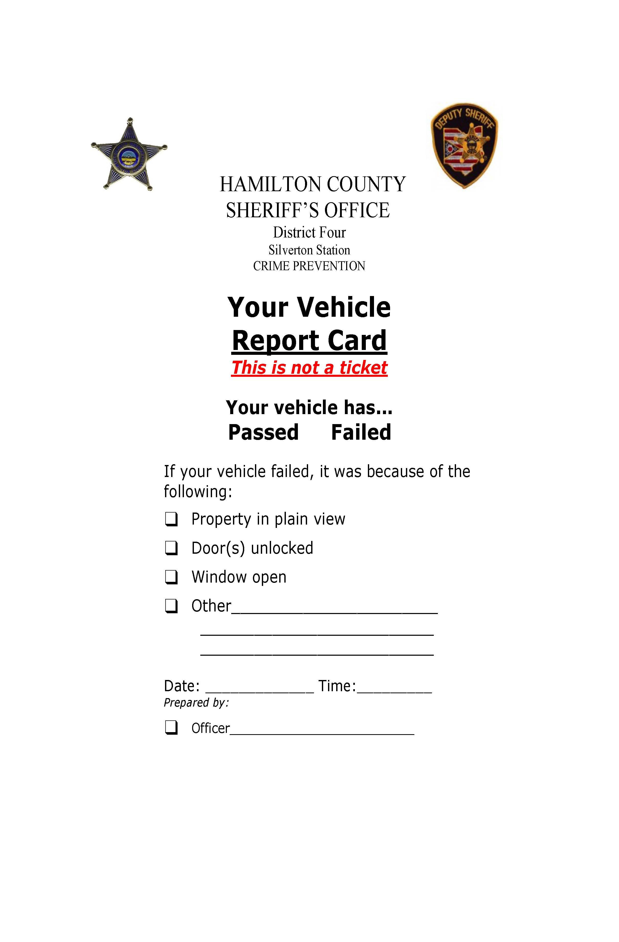 VehicleSecurityReportCard